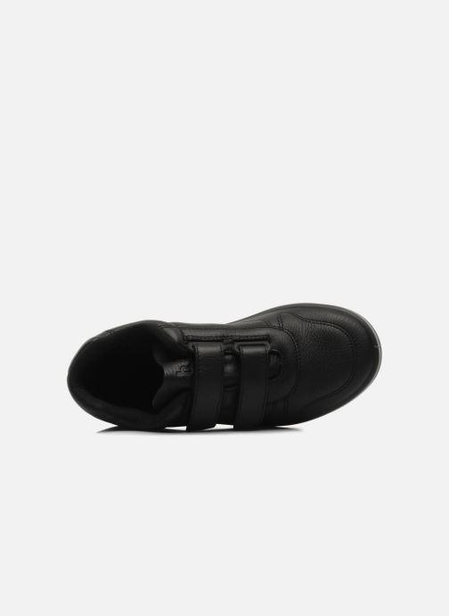 Sneaker TBS Made in France Archer schwarz ansicht von links