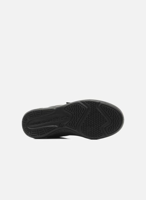 Sneaker TBS Made in France Archer schwarz ansicht von oben