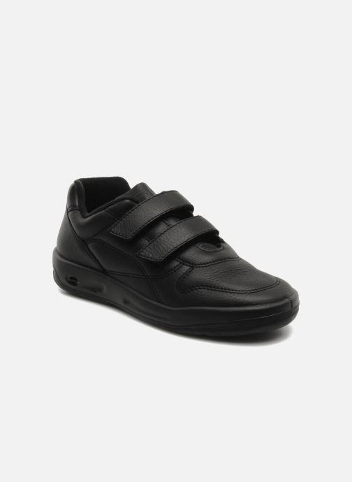 Sneakers TBS Made in France Archer Sort detaljeret billede af skoene