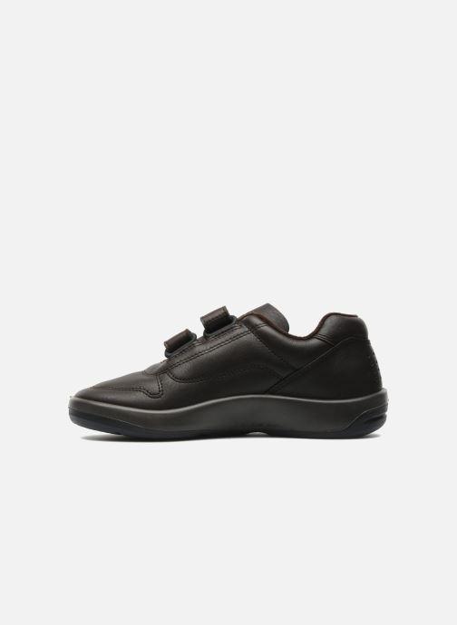 Sneaker TBS Made in France Archer braun ansicht von vorne