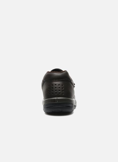 Sneaker TBS Made in France Archer braun ansicht von rechts