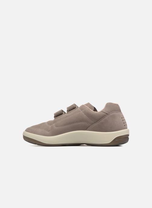 Sneakers TBS Made in France Archer Grigio immagine frontale