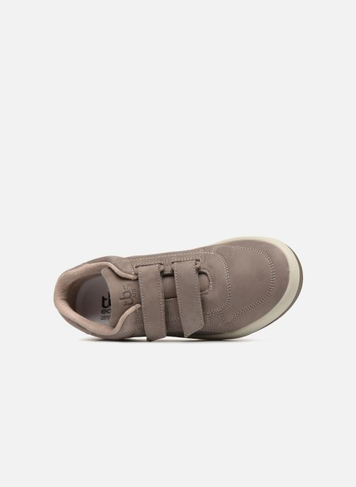 Sneakers TBS Made in France Archer Grigio immagine sinistra