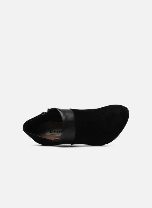 Bottines et boots Dune London ADONNIS Noir vue gauche