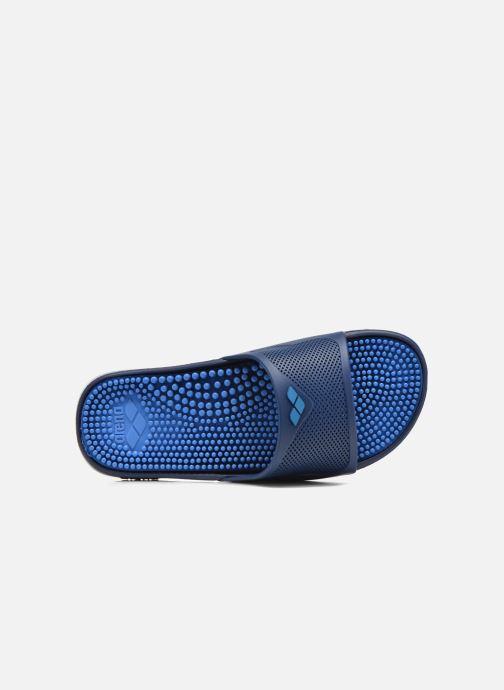 Chaussures de sport Arena Marco X Grip Box + Hook Bleu vue gauche