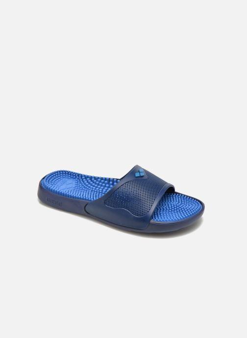 Chaussures de sport Arena Marco X Grip Box + Hook Bleu vue détail/paire
