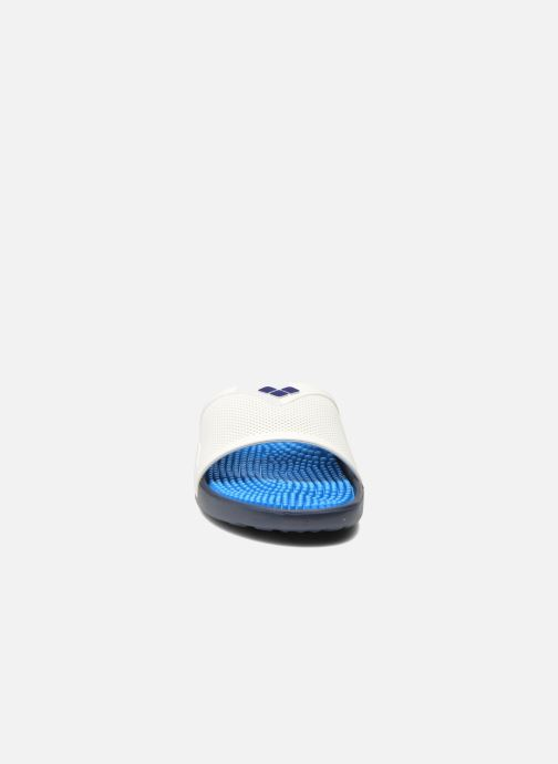 Chaussures de sport Arena Marco X Grip Box + Hook Blanc vue portées chaussures