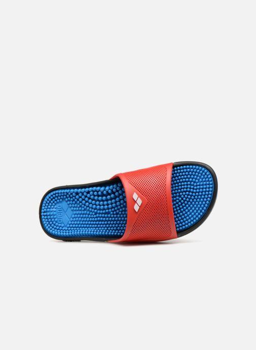 Chaussures de sport Arena Marco X Grip Box + Hook Rouge vue gauche