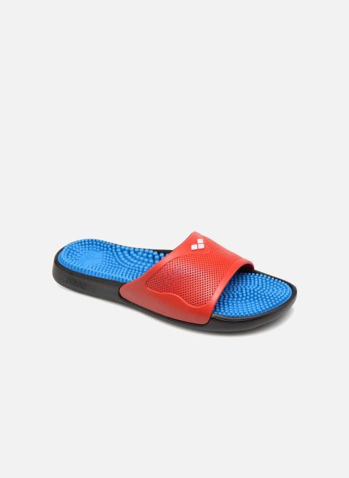 Chaussures de sport Arena Marco X Grip Box + Hook Rouge vue détail/paire