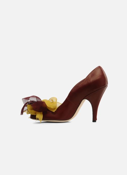 High heels Fred Marzo Kristin Burgundy front view