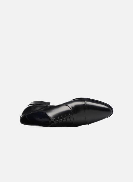 Zapatos con cordones Brett & Sons Garry Negro vista lateral izquierda