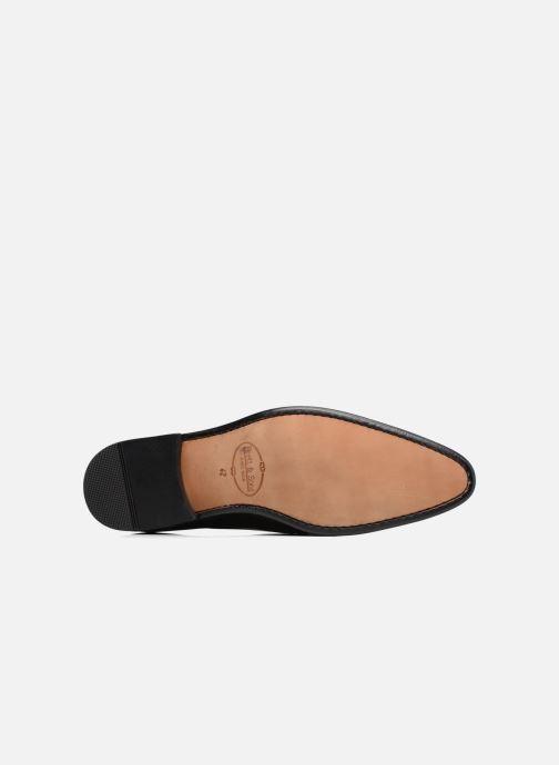 Chaussures à lacets Brett & Sons Garry Noir vue haut