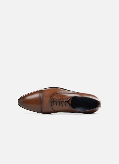 Scarpe con lacci Brett & Sons Garry Marrone immagine sinistra