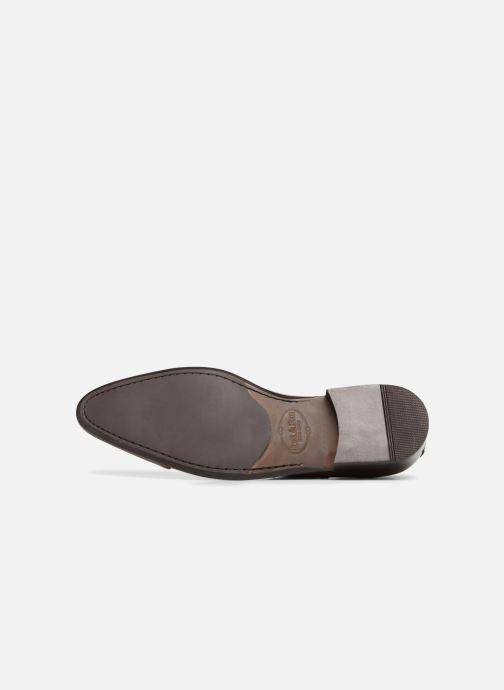 Chaussures à lacets Brett & Sons Garry Marron vue haut