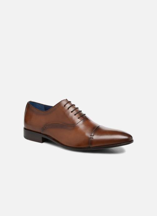 Chaussures à lacets Brett & Sons Garry Marron vue détail/paire