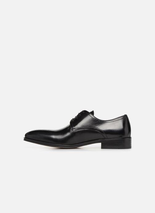 Zapatos con cordones Brett & Sons Mark Negro vista de frente