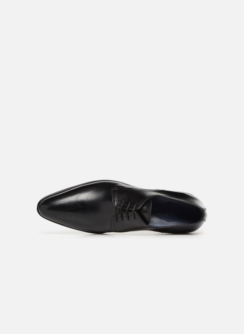 Zapatos con cordones Brett & Sons Mark Negro vista lateral izquierda