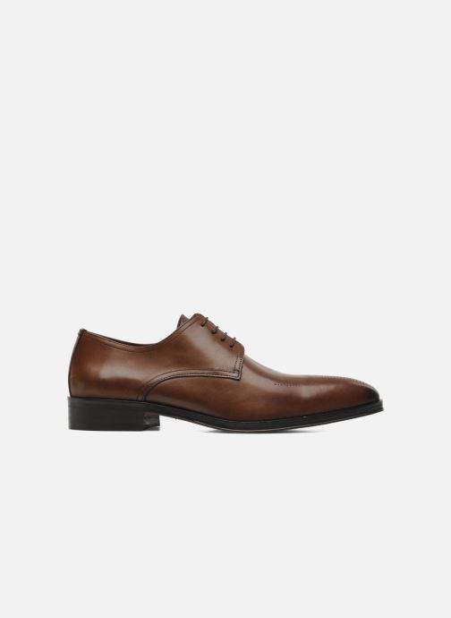 Chaussures à lacets Brett & Sons Mark Marron vue derrière