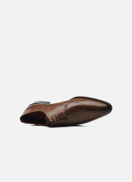 Zapatos con cordones Brett & Sons Mark Marrón vista lateral izquierda