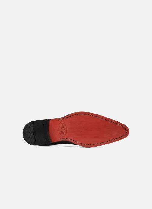 Chaussures à lacets Brett & Sons Mark Marron vue haut