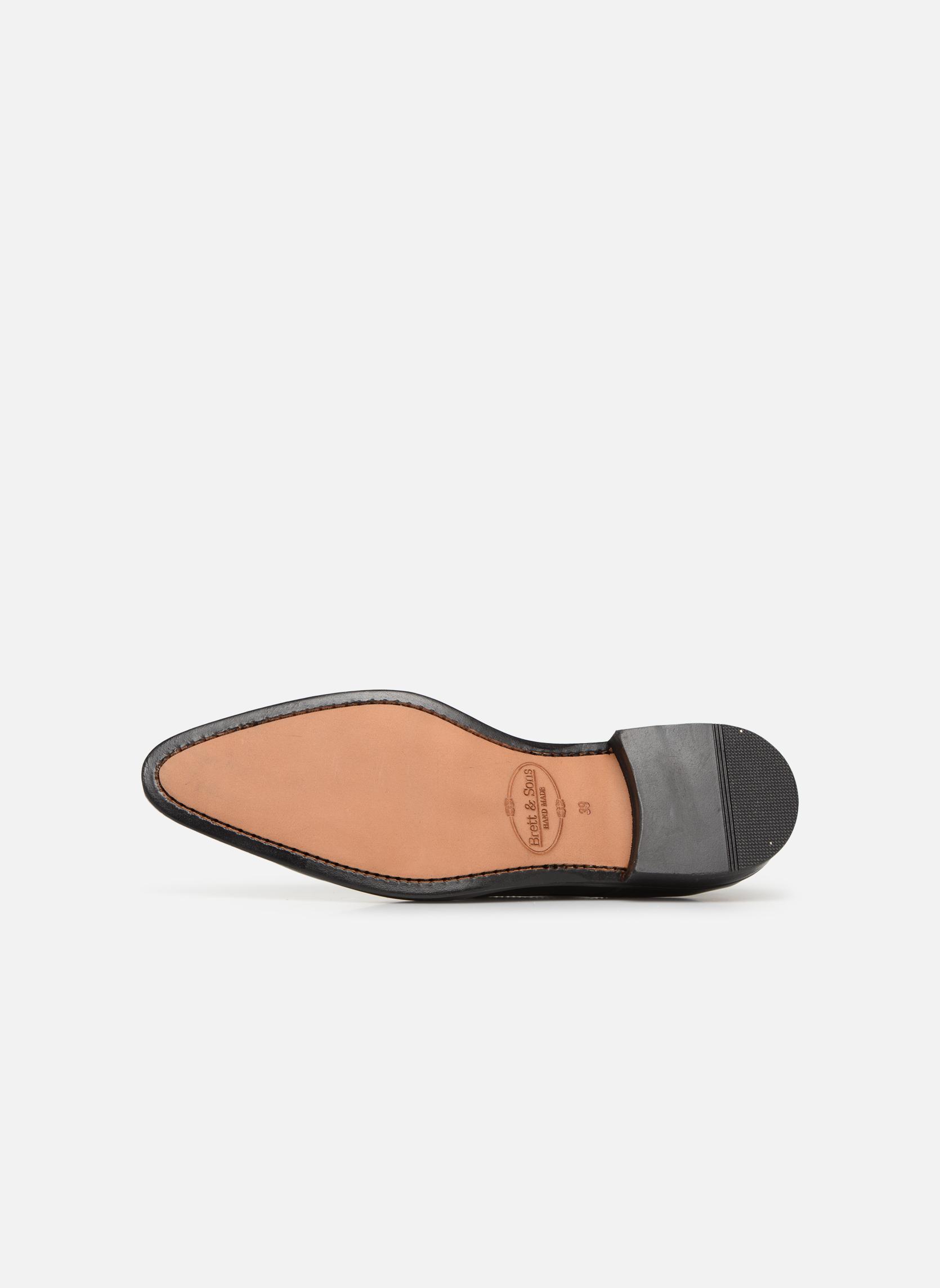 Zapatos con cordones Brett & Sons Mark Negro vista de arriba