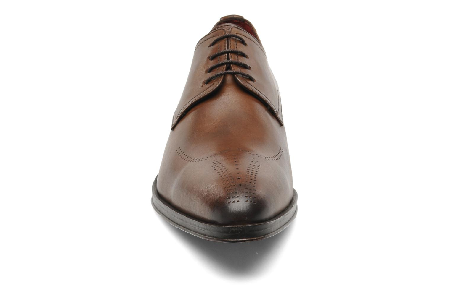 Lace-up shoes Brett & Sons Mark Brown model view