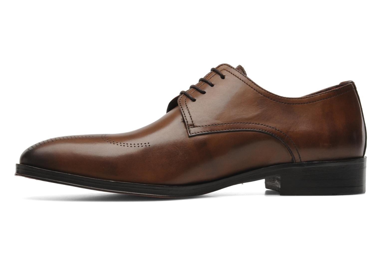 Chaussures à lacets Brett & Sons Mark Marron vue face