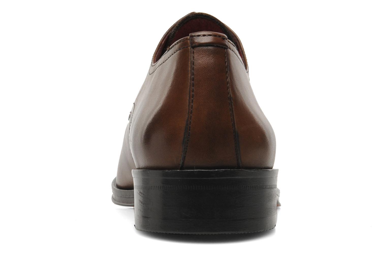 Chaussures à lacets Brett & Sons Mark Marron vue droite