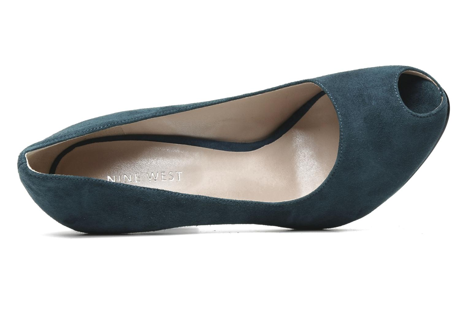 Escarpins Nine West JUSTCRUISE Bleu vue gauche