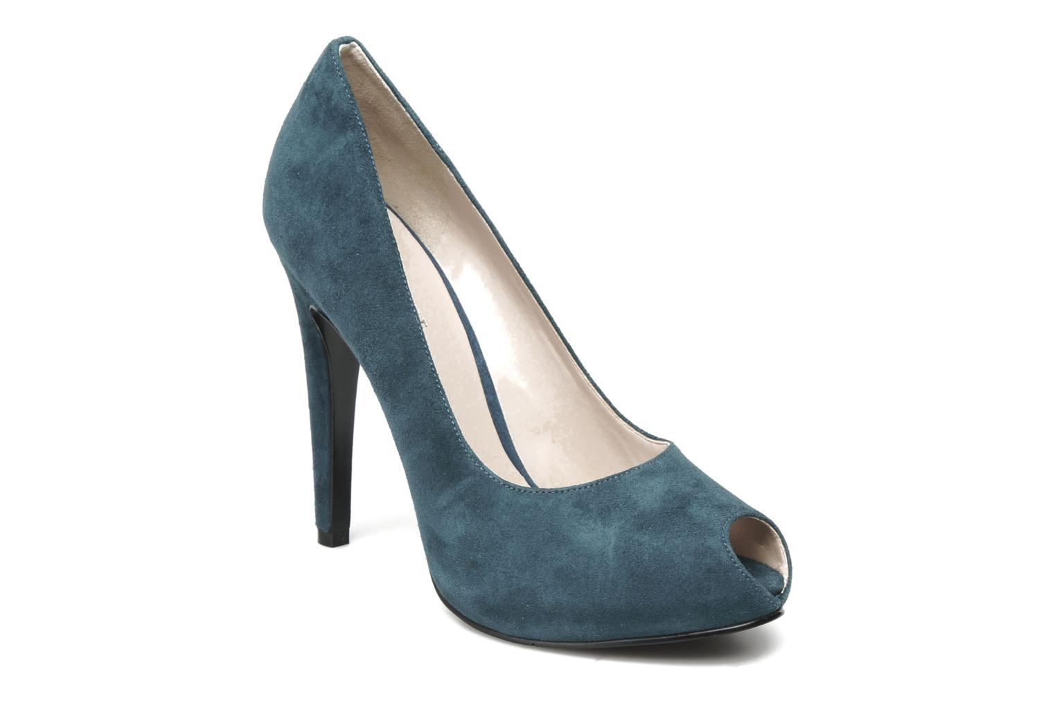 Escarpins Nine West JUSTCRUISE Bleu vue détail/paire