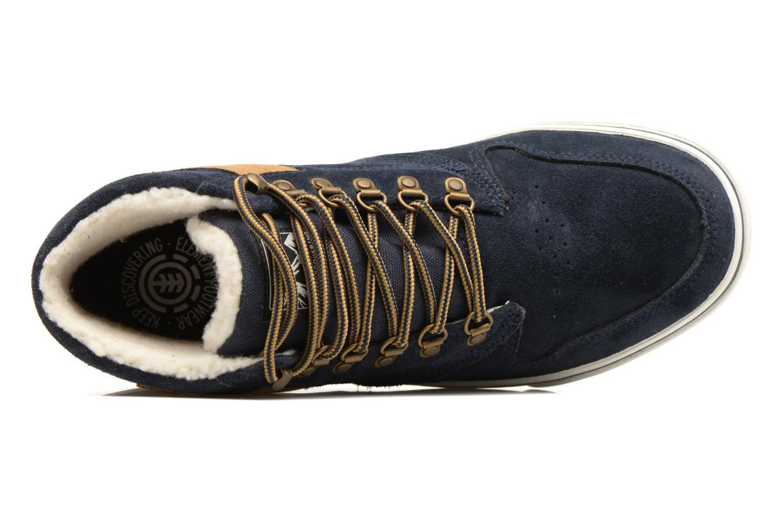Chaussures de sport Element Topaz C3 Mid Bleu vue gauche