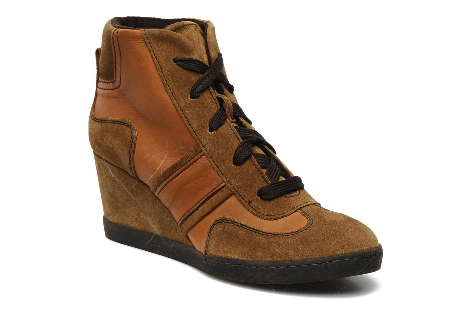 Trainers Khrio Luopa Brown detailed view/ Pair view