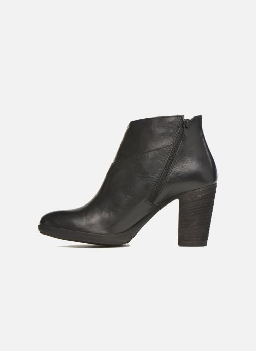 Bottines et boots Khrio Eva Noir vue face