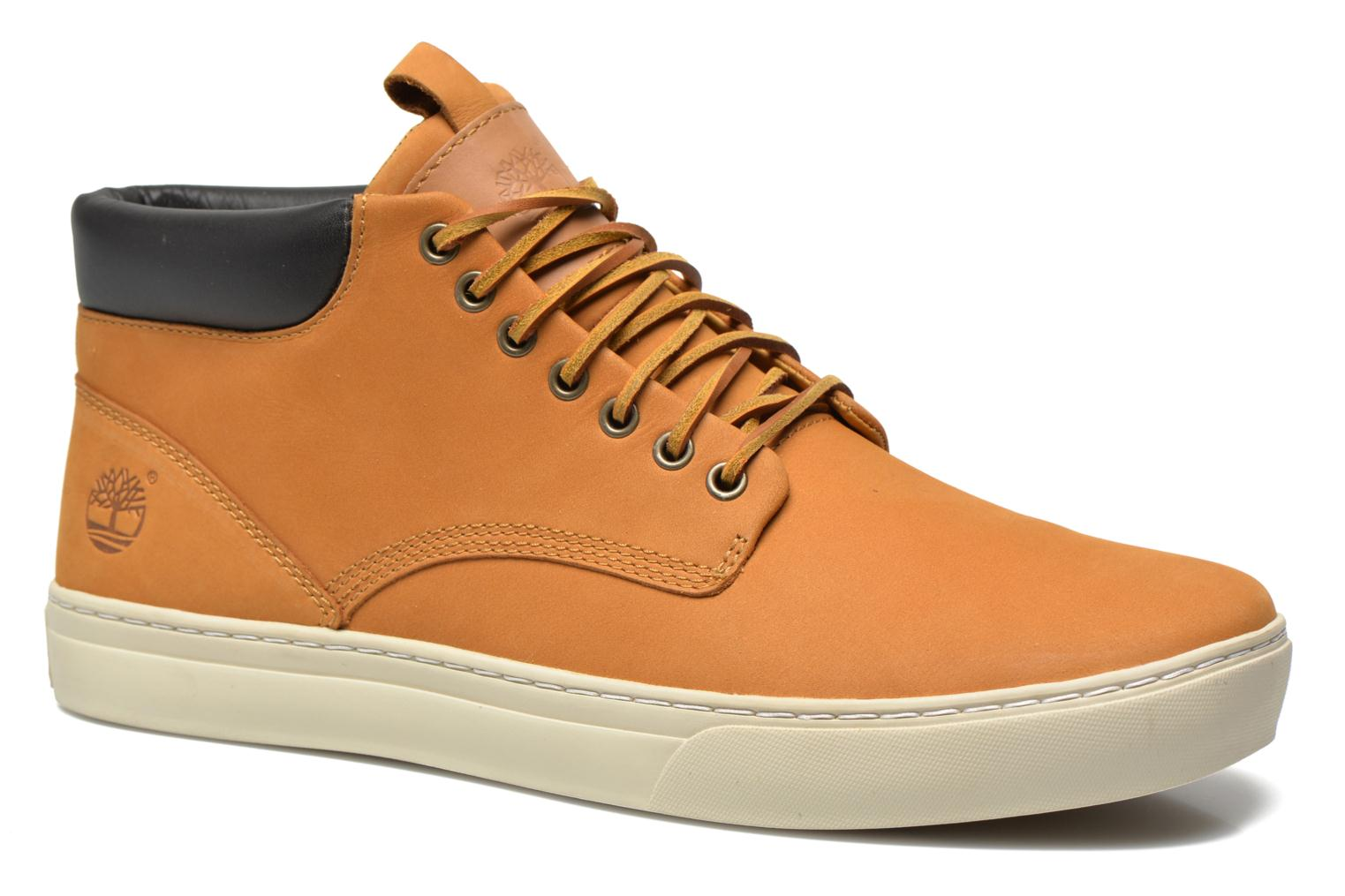 Baskets Timberland Earthkeepers 2.0 Cupsole Chukka Jaune vue détail/paire