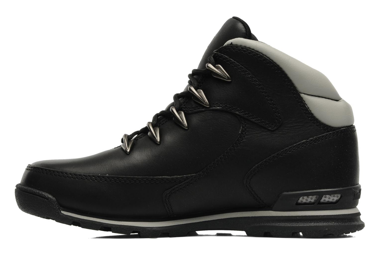 Sneaker Timberland Euro Rock Hiker schwarz ansicht von vorne