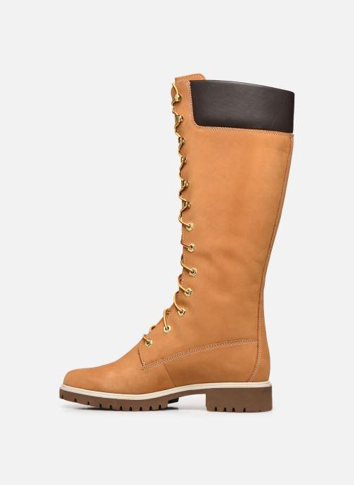 Botas Timberland Women's Premium 14 inch Amarillo vista de frente