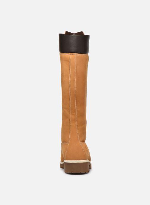 Stivali Timberland Women's Premium 14 inch Giallo immagine destra