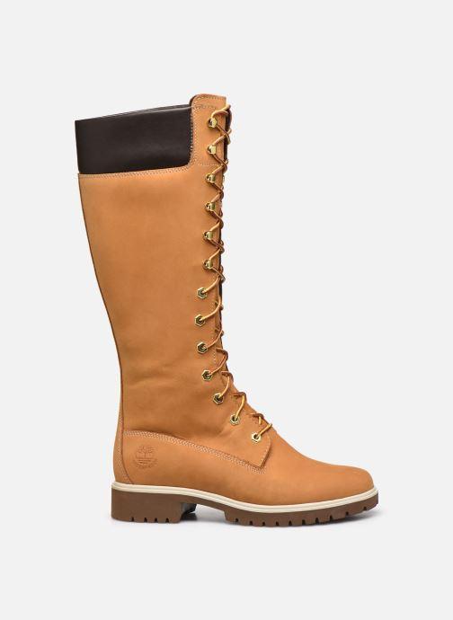 Botas Timberland Women's Premium 14 inch Amarillo vistra trasera