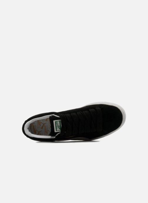 Trainers Puma Suede classic eco W Black view from the left