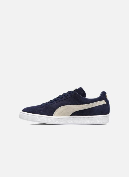 Trainers Puma Suede classic eco W Blue front view