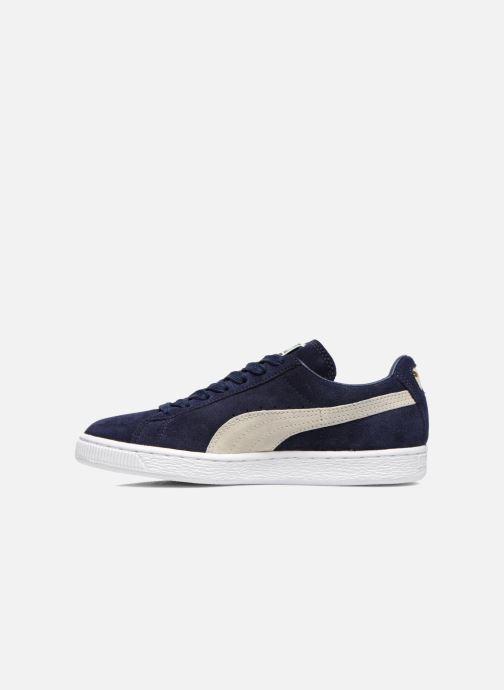 Sneaker Puma Suede classic eco W blau ansicht von vorne