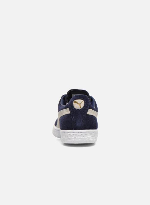 Baskets Puma Suede classic eco W Bleu vue droite