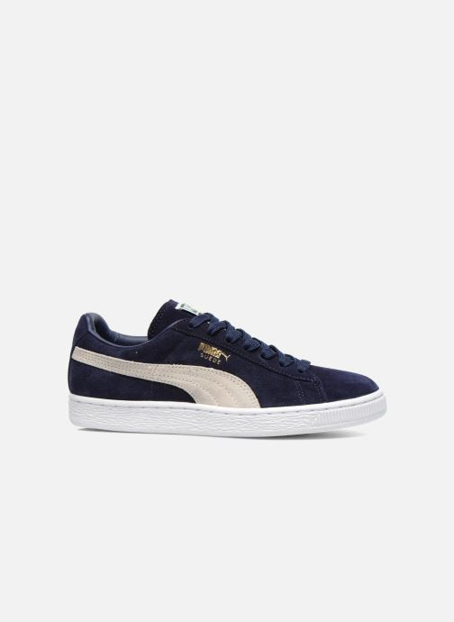 Trainers Puma Suede classic eco W Blue back view