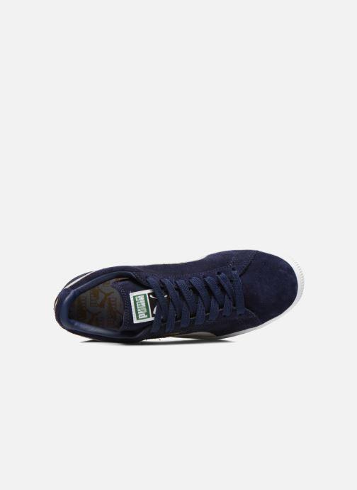 Sneaker Puma Suede classic eco W blau ansicht von links