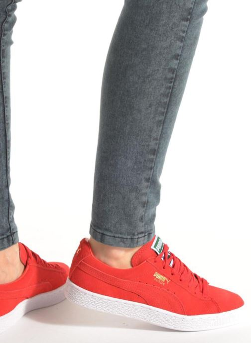 Sneakers Puma Suede classic eco W Bordò immagine dal basso