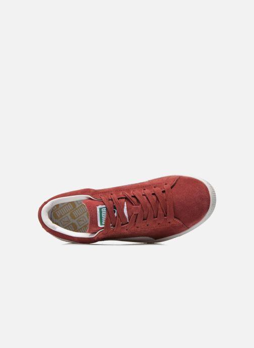 Sneakers Puma Suede classic eco W Bordeaux se fra venstre