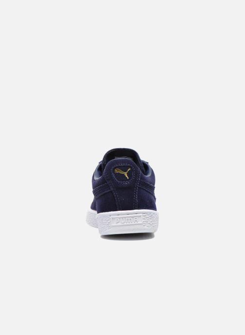 Sneakers Puma Suede classic eco W Blå Se fra højre