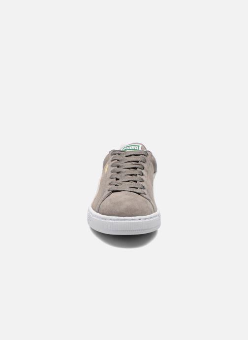 Sneaker Puma Suede classic eco W grau schuhe getragen