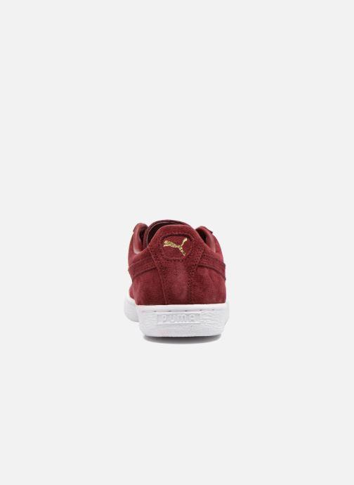 Sneakers Puma Suede classic eco W Bordeaux Se fra højre