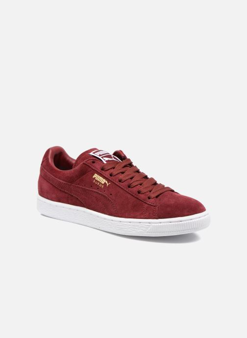 Sneakers Puma Suede classic eco W Bordeaux detaljeret billede af skoene